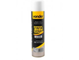TINTA SPRAY BRANCA VONDER
